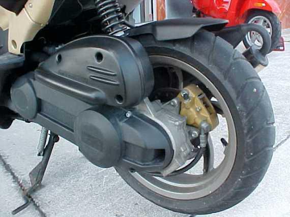 RDB scooter Aprilia