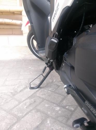 Standar Samping diganti milik Honda Beat karbu